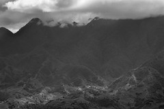 Sa Pa - 85mm (Manu CV) Tags: landscape monochrome mountains fansipan vietnam sapa sony a7s minolta 85mm f14 minolta85mmf14 travel wanderlust clouds shadow light southasia