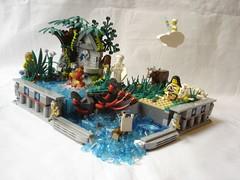 Charybdis & Scylla (fdsm0376) Tags: brickpirate bpchallenge mythology charybdis scylla monsters moc lego