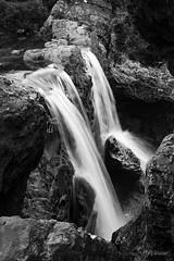 (PL-Vision) Tags: scotland highlands landscape travel photography nature plvision ecosse water fairypools skye black white