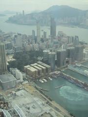 IMG_0588 (Sweet One) Tags: icc sky100 observationdeck view city skyline buildings towers hongkong harbour