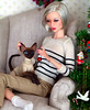 Cats are not just for Christmas. (Kim ️) Tags: numina doll sung kimlondon oleum cat evethecat bjd pet