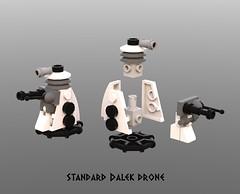 Dalek Drone (Space Glove) Tags: lego dalek ldd