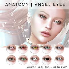ANATOMY ANGEL EYES @ WLRP (daeberethwen) Tags: omega eyes appliers weloveroleplay weloverp wlrp lelutka insol sintiklia anatomy