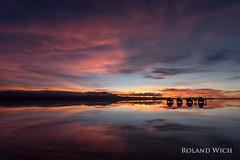 Salar de Uyuni (Rolandito.) Tags: south america südamerika amérique du sud sudamérica bolivia bolivie bolivien salar de uyuni sunrise cars jeeps silhouette silhouettes