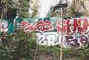 Elas (lanciendugaz) Tags: graffiti graff paris spray spraycan autoroute a4 vandalisme vandal chrome couleur lettrage roulo hauteur block crew tags tag taggeurs graffeurs negatif spot