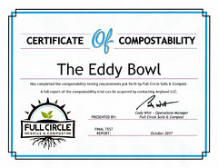 eddy-composting-certificate (ddotcom12) Tags: eddybowl compostable certificate water bowl dogbowl reusable full circle compost fullcirclecompost