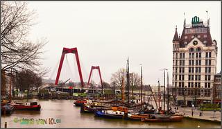 Wittehuis met Willemsbrug