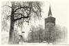 20171210010-bewerkt.jpg (marcel van Doesburg) Tags: winter grote kerk grotekerk snow blackwhite monochrome