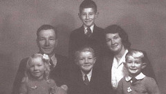 William John Rogers, Winifred Cutts and family