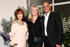 Lynn Posluns, Cheryl Tiegs, Mark Lash