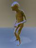 Close Knit (Steve Taylor (Photography)) Tags: knitting man art digital sculpture artgallery brown blue newzealand nz southisland canterbury christchurch texture