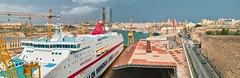 Palumbo_Shipyard_Cospicua_Malta (FrogHill) Tags: malta palumbo shipyard sigma sd2 panorama foveon