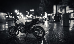 Noir (Edd Noble) Tags: bokeh bokehrama bokehpano brenizermethod sonya7 canonfd85mmf12 gothenburg göteborg bike motorbike