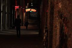 post joy (pacfolly) Tags: seattle gumwall gumwallseattle gum people alley postalley walking