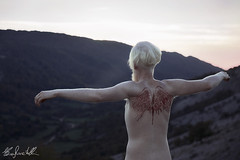 Blood Eagle (Elis's ☾) Tags: sky skin pelle light luce blood sangue magic fairy fairytale favola fiaba fable fantastic fantasy boy portrait 2470mm canon5dmark3 elisascascitelli eagle aquila man uomo teen morte death albino blonde norwegian walhalla norreno biondo fjord fiordo tramonto sunset fineart art arte artistic painting volare fly flying poetry mito wings ali nudo vintage nude beauty beautiful likes portfolio bloodeagle norvegia vichingo viking series vichings