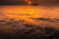 sunset 1876 (junjiaoyama) Tags: japan sunset sky light cloud weather landscape orange contrast colour bright lake island water nature fall autumn