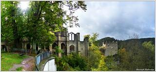 Klosterkirche und Kaiserhaus auf dem Oybin [in explore]