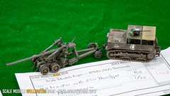 "B3 - M5 Tractor with 5.5"" Howitzer - Tish Glasson"