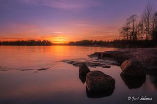 Haukilahti sunset
