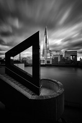An angle on London (another_scotsman) Tags: london shard longexposure cityscape mono blackandwhite firecrestnd3 greatphotographer