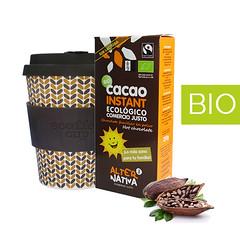 Pack Regalo Vaso Bambú y Cacao BIO Instantaneo (Eqshop Tu tienda online de Café) Tags: cacao vasosbambu vasosbiodegradables biologico comerciojusto