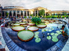 Panorama 3448_blended_fused_pregamma_1_mantiuk06_contrast_mapping_0.1_saturation_factor_0.8_detail_factor_1 (bruhinb) Tags: panorama hdr longwood kennettsquare pa usa longwoodgardens waterlilies