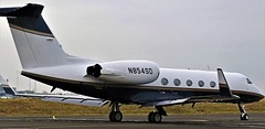 N854SD GULFSTREAM G-IV NEWCASTLE (toowoomba surfer) Tags: bizjet businessjet executiveaviation jet aeroplane ncl egnt
