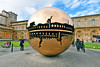 The world is round (Ormastudios) Tags: rome globe gold bluesky