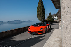 Aventador LP700-4 (Nico K. Photography) Tags: lamborghini aventador lp7004 orange supercars photoshooting nicokphotography switzerland zugersee