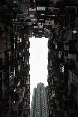 Between the buildings (JAVAWOCK) Tags: autumn hongkong street 香港 hongkongisland hk
