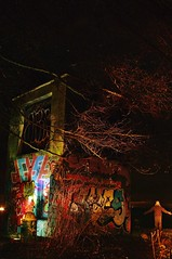 Night Tower (petejam70) Tags: vancouvercanada night longexposure color community urban bright