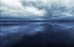 water and sky (paulh192) Tags: muskegon michigan clouds blue lowlight leicasl