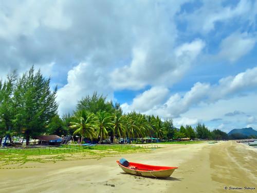 Hua Hin Beach camminata sulla spiaggia