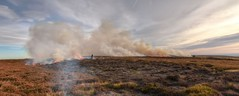 The Burning Of The Moor (cassidymike21) Tags: fire moor burning smoke