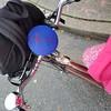 Après moi, le déluge :-) 20171120_095534 (roland) Tags: bicycling bicyclingtowork bike bicycle vancouver bike2workpix pink raincape logitechue2 schwinn 1946 1946schwinn