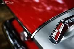 Fury Trunk Badge (Hi-Fi Fotos) Tags: plymouth fury trunk badge detail crest emblem vintage american classiccar style design red chrome fin beauty nikon d7200 dx hififotos hallewell