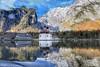 Reflecting Königssee. (joseph_donnelly) Tags: bavaria bayern germany mountain kirche church water reflection reflecting lake königssee