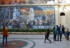 Rivera Court, Detroit Institute of Arts (Images by Walter Lesus) Tags: diego rivera detroit institute art