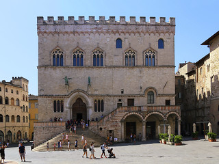 Stepping into the medieval centre of Perugia