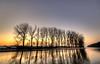 Wooden wintery silhouettes. (Alex-de-Haas) Tags: 1635mm d750 dutch hdr holland nederland nederlands netherlands nikkor nikkor1635mm nikon nikond750 noordholland noordhollandschkanaal thenetherlands westfriesland belichting bomen boom canal cloudless daglicht daylight handheld hemel highdynamicrange kanaal landscape landscapephotography landschap landschapsfotografie licht light lighting lucht onbewolkt skies sky sneeuw snow sundown sunset tree trees unclouded water winter zonsondergang