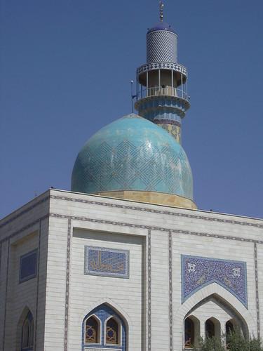 Raqqa, Moderne Moschee unweit des Bagdhdad Tores (Bab Baghdad)