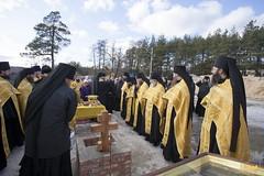 44. Закладка собора в г. Святогорске 01.11.2009