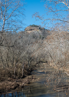The Red River and Ravens Rock