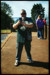 10/20/17 - Me taking picture of Amy (CubMelodic23) Tags: october 2017 vacation trip alabama wheelerdam hdr selfportrait me dave