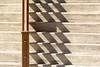 Shadowplay on a stairway (Jan van der Wolf) Tags: map1673v trap shadow schaduw schaduwen schaduwspel shadowplay stairs staircase stairway steps handrail leuning