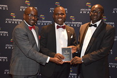 DSC_4616 African Diaspora Awards (ADA) Ceremony and Christmas Ball Conrad Hotel St. James London with H.E Mr. Lazarus Amayo High Commissioner of the Republic of Kenya to the United Kingdom Dr Sam Ochieng and Conrad Mwanza from Zimbabwe (photographer695) Tags: african diaspora awards ada ceremony christmas ball conrad hotel st james london with he mr lazarus amayo high commissioner republic kenya united kingdom dr sam ochieng mwanza from zimbabwe
