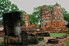 Headless Buddha at Ayutthaya (JeffGuth) Tags: ayutthaya buddha buddhism thailand ayutthayathailand siam statue temple ruins ruin southeastasia seasia
