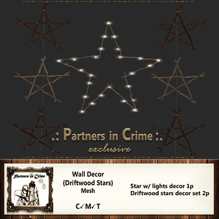 Wall Decor {Driftwood Stars}