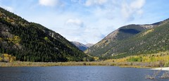 The Colors of Colorado (Patricia Henschen) Tags: buenavista colorado cottonwood lake sanisabelnationalforest mountain forest fall fallcolor leafpeeping aspen backroads backroad chaffeecounty rural roadside clouds autumn