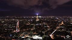 Paris Night (Franck Bzh) Tags: france paysages paris panorama wideangle landscape latoureiffel tourism nisi longexposure d7100 nikon nikond7100 night nikonfr photographesourd photographe sigma